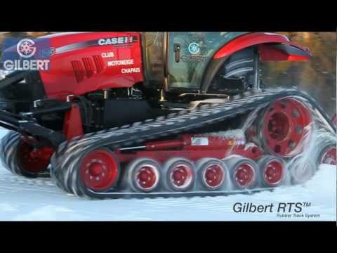 Gilbert RTS Snowgroomer - Surfaceuse Gilbert RTS
