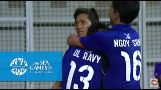 Football Cambodia vs Philippines Full Time Match Highlights 3 June | 28th SEA Games Singapore 2015