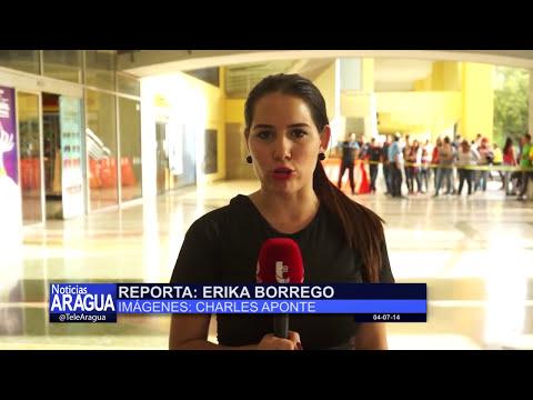 Bomba lacrimógena en el C.C Las Américas de Maracay