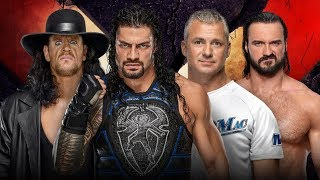 WWE Extreme Rules 2019 Predictions! Undertaker & Roman Reigns Shane McMahon & Drew No Holds Barred!