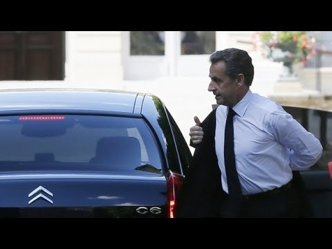 Former French president Nicolas Sarkozy is taken into custody
