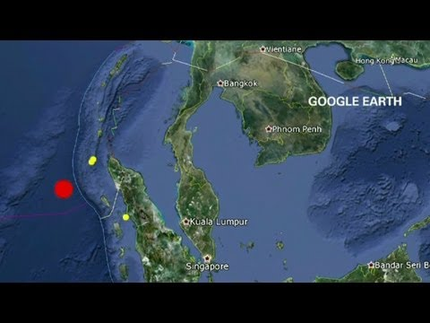 Big quake strikes off coast of Indonesia