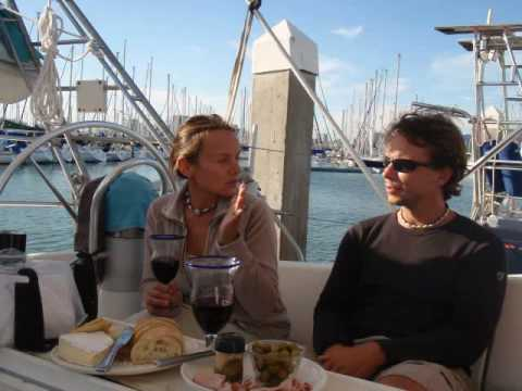 Sailing from El Salvador to San Fransisco.wmv Video