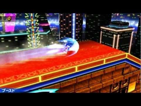 Sonic Generations 3DS NEW Casino Night & Mushroom Hill Pics FULL HD