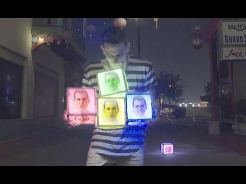 Mike Tompkins - (acapella) Street Beat 1 video