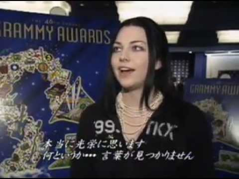 Amy Lee at Announcement of Grammy Nominations & Japanese Interview