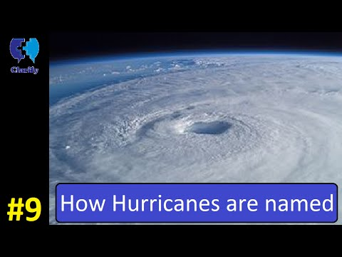 How Hurricanes are named | Clarify #9