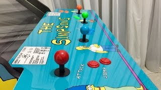 The Simpsons Arcade Machine - 4 Players! Konami