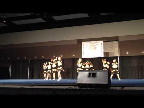 Pacifica Tigersharks Jr. Peewee Cheer 2014