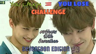 Download Lagu YOU LAUGH = YOU LOSE! CHALLENGE : SEVENTEEN (세븐틴) EDITION #3 Gratis STAFABAND