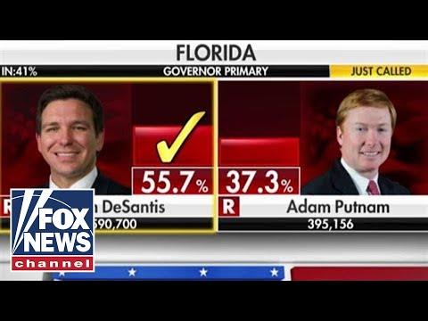 Ron DeSantis wins Florida GOP primary for governor