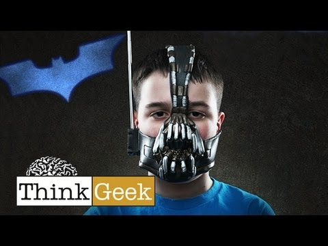 Amazing Bane Mask Walkie Talkies from ThinkGeek!