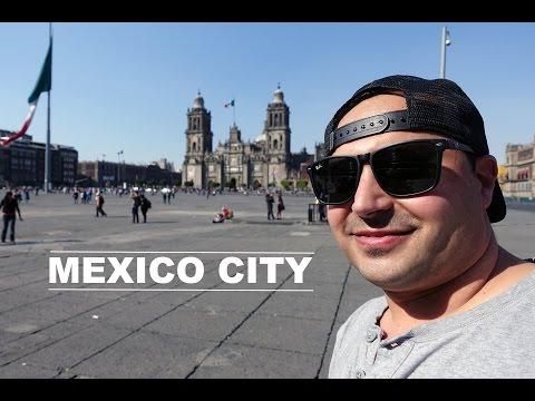 Mexico City Travel Tour! - 4K