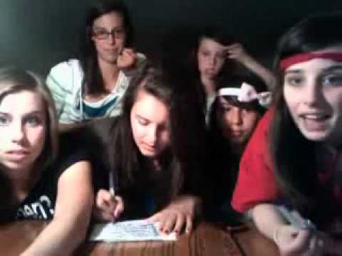 Party In The USA - Cimorelli on Video Chat Music Videos