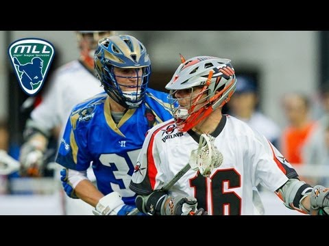 MLL Week 1 Highlights: Denver Outlaws at Charlotte Hounds