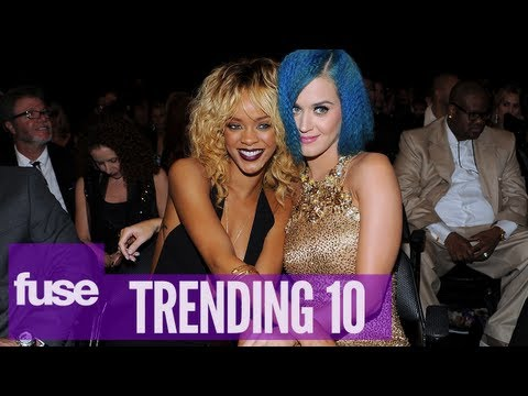 Rihanna & Katy Perry Plan Spanking Session - Trending 10 (04/25/13)
