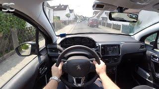 Peugeot 208 1.2 (2016) - POV City Drive