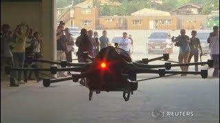 Fliegender Sportwagen: Mit 16 Rotoren aus dem Stau