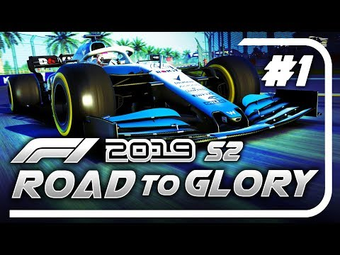 F1 2019 Road to Glory Career Mode - S2 Part 1: WE'RE BACK FOR MORE!!!