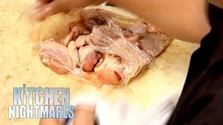 Restaurant Uses Old, Smelly Chicken | Kitchen Nightmares