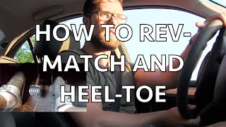 HOW TO DOWNSHIFT: Rev-matching and Heel-toe in an e46 BMW