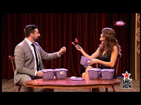 Ami G Show S07 - Severina I Ognjen - Igrica kutija Lazi video