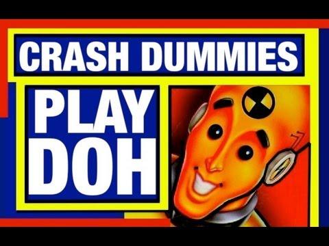 Play Dough Crash Dummies Cars Play Doh Set Cars Toys Reviews Mike Mozart TheToyChannel