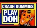 Play Dough Crash Dummies Cars Play Doh Set Cars Toys Reviews Mike Mozart TheToyChannel