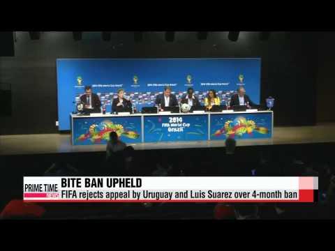 FIFA dismisses Suarez appeal