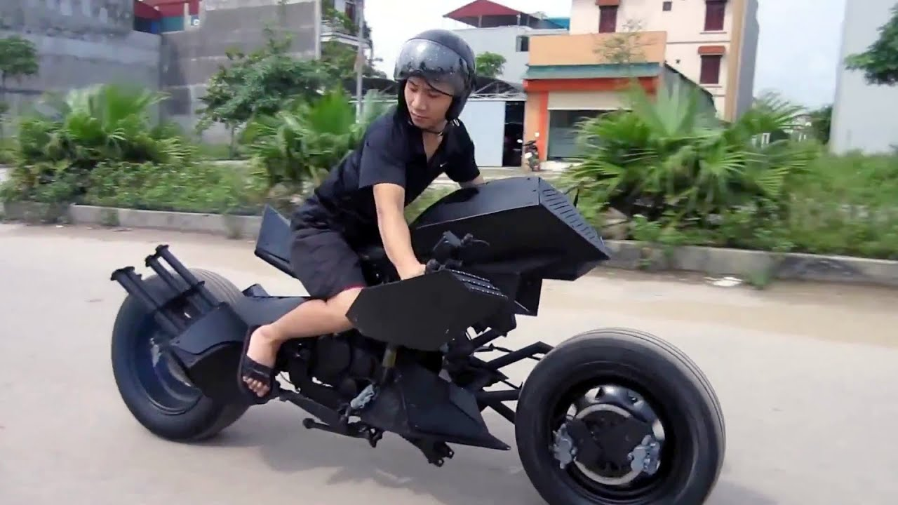 Batman Batmobile Bike Designed In Vietnam Youtube