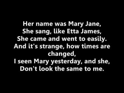 Shwayze-Mary jane w/lyrics