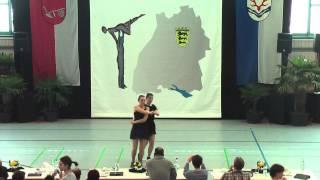 Laura Körner & Rebecca Grupp - Ländle Cup 2015