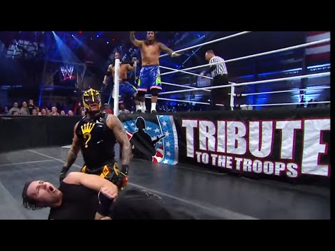 The Shield Vs. Rey Mysterio & The Usos: Tribute To The Troops 2013 video