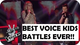 TOP 5 BEST VOICE KIDS BATTLES IN THE WORLD!!
