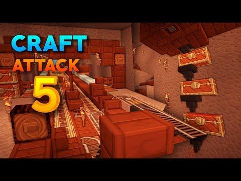 Der TUNNEL ist FERTIG! 3 NEUE MOBFARMEN gebaut | Craft Attack 5 #7 | Rotpilz