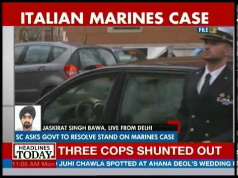 SC asks govt to resolve stand on Italian Marines case