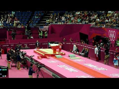 Giulia Steingruber VT1 - 2012 Olympics qual