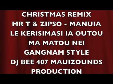 Christmas Remix - Gagnam Style- Mr T & Zipso Remixx - 2013 video