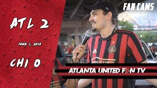 I Hate to See Josef Go on International Duty on This Form | ATL UTD 2 CHICAGO FIRE 0 | FAN CAMS