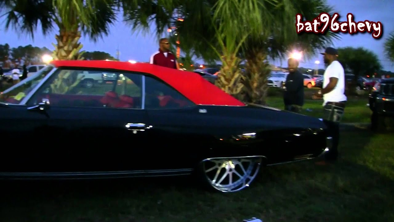 Black Amp Red Chevy Caprice Convertible Donk On 26