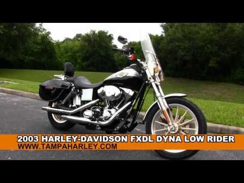 Used 2003 Harley Davidson Dyna Low Rider 100th Anniversary Motorcycle for Sale