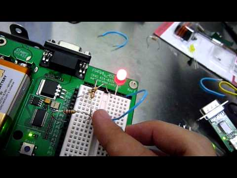 Basic Stamp - Turn LED on and off using pushbutton