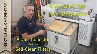 """Self Cleaning"" Dust Collector?  SAHWEET!"