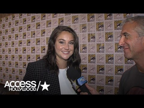Comic-Con 2016: Shailene Woodley On Working With Oliver Stone In 'Snowden' | Access Hollywood