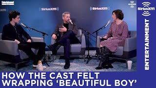 Timothée Chalamet on the feeling of wrapping Beautiful Boy with Steve Carell
