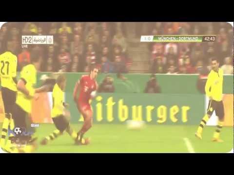 Bayern Munich  vs   Borussia Dortmund   1-0 All Goals & Full Highlights  [Feb.27.2013]
