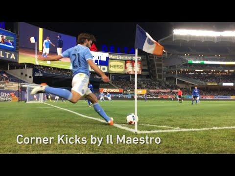 Andrea Pirlo's Corner Kick Arsenal