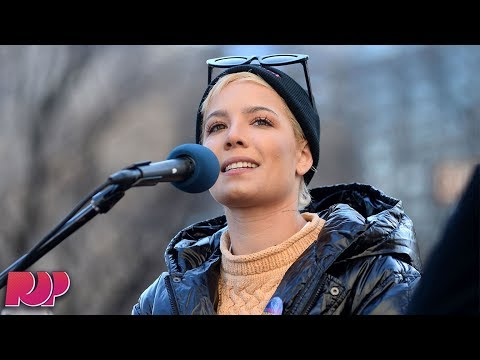 Women's March Highlights: Halsey's Speech And More...