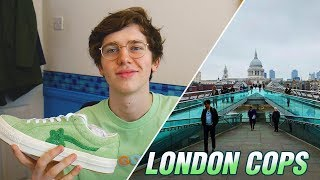 copping GOLF LE FLEUR in LONDON at Dover Street Market (Tyler The Creator, Converse Green)
