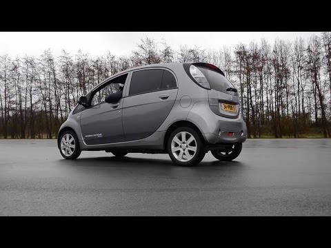 Тестируем Электрический Mitsubishi i-MiEV